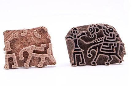 Elephant motif of jajam