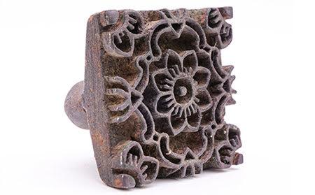 Old wooden block of Jajam